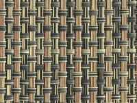Desert Phifertex® Cane Wicker & Waffle Wicker Fabric