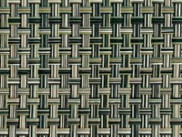grass Phifertex® Cane Wicker & Waffle Wicker Fabric