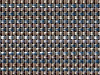 Pria Tweed Indigo Phifertex® Cane Wicker Fabric