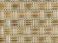 Veranda Nutmeg Phifertex® Cane Wicker & Waffle Wicker Fabric