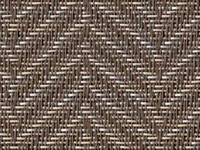 Victoria Polished Silver Phifertex® Cane Wicker & Waffle Wicker Fabric