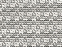FP-078 Sisal Aluminum Phifertex Wicker Weave Fabric