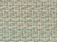 Reflection Seaglass Phifertex® Cane Wicker & Waffle Wicker Fabric
